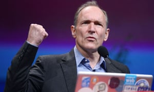 British computer scientist Tim Berners-Lee, who invented the world-wide web, champions open data