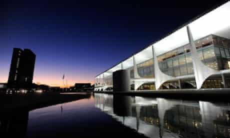 Brasilia Planalto palace