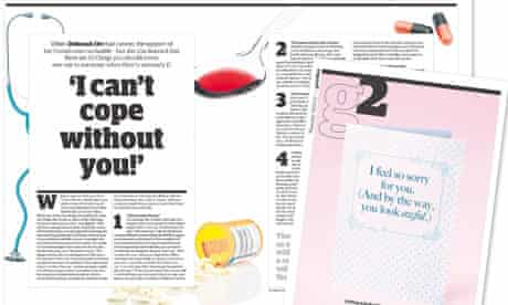 Deborah Orr's piece on what not to say to sick people