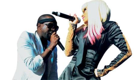 Nicki Minaj and Kanye West