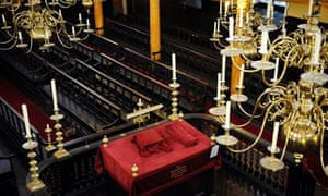 Bevis Marks Synagogue in London