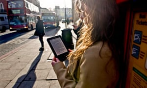 Reading novels on a Kindle or Ipad