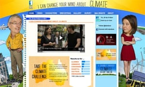 ABC TV's documentary on climate change