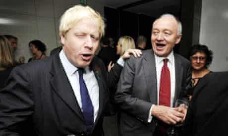 Boris Johnson and Ken Livingstone in happier times.