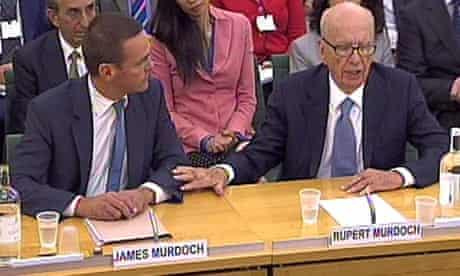 Rupert Murdoch James Murdoch