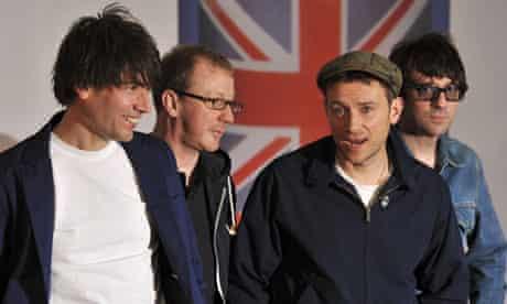 Blur at Brit awards