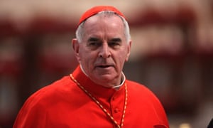 Cardinal Keith O'Brien at the Vatican, in February.