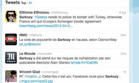 twitter in french