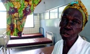 Kavita Masenga is the lead obstetric nurse at Kinshasa general hospital