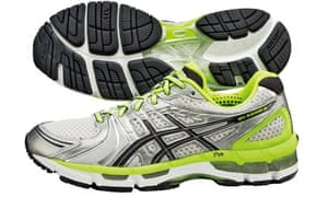 5bcaa7e7172b Researchers found that Asics gel Kayanos generated 30lbs of carbon  emisisons. were Photograph  Asics