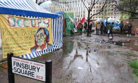 Islington council says the time has come to shut down the Occupy London camp in Finsbury Square.