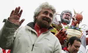 Beppe Grillo, Italian comedian