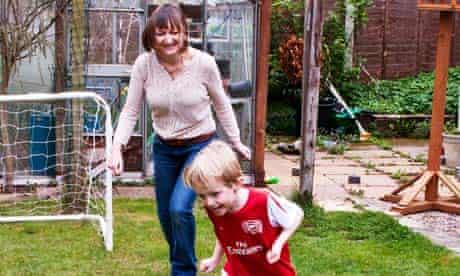 Sarah Franklin football obsessive son