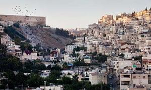 An Israeli settlement in East Jerusalem