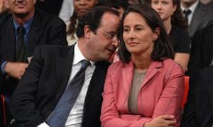 François Hollande with Ségolène Royal, 2007