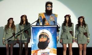 Sacha Baron Cohen in The Dictator