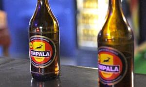 Impala beer brewed by SABMiller