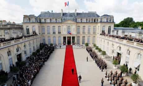 Francois Hollande inauguration