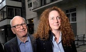 Rupert Murdoch, Rebekah Brook