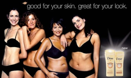 Dove's real women advertising campaign