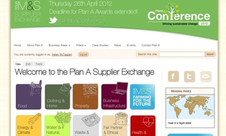 M&S Plan A Supplier Exchange