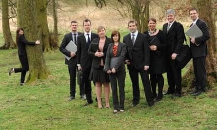 The Groundwork Pennine team