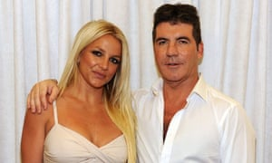 Britney Spears and Simon Cowell, May 2012