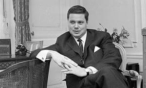 Dietrich Fischer-Dieskau, pictured in 1960.