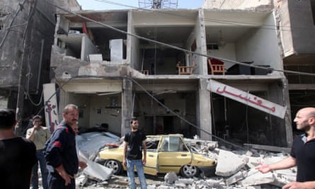 Car bombs explode in Damascus
