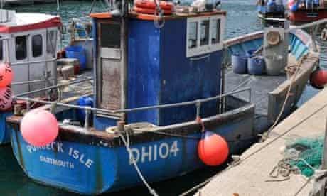 The Purbeck Isle fishing boat