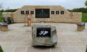 Falklands war memorial unveiled