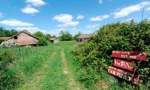 Courbefy village