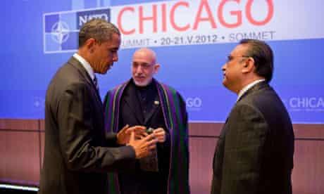 Obama, Karzai and Zardari