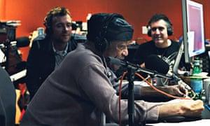 Bobby Womack in the studio