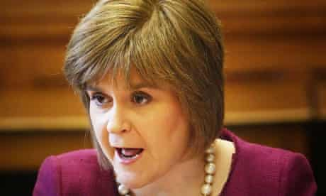 Nicola Sturgeon says independence would make Scotland a more competitive country.