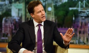 Nick Clegg appears on The Andrew Marr Show