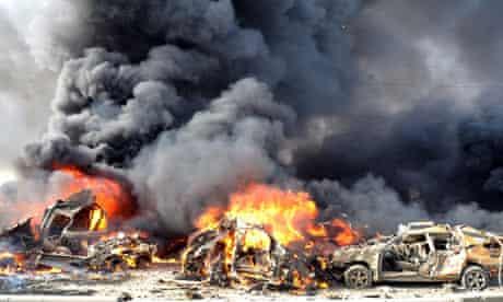 Damascus, car bombs