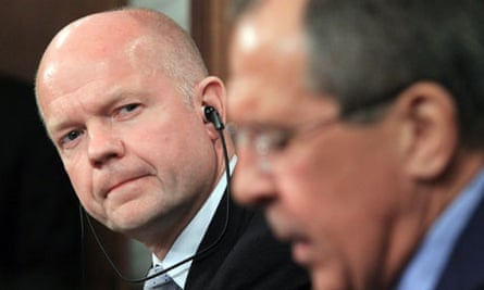 Sergei Lavrov William Hague