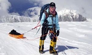 Mountaineer Leanna Shuttleworth