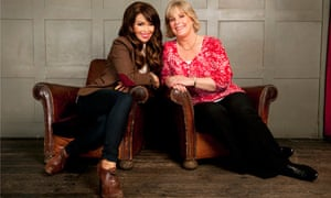 Katie Piper and her mother Diane