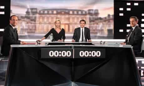 Sarkozy v Hollande: French 2012 Presidential Election TV Debate