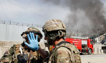 Nato troops in Afghanistan
