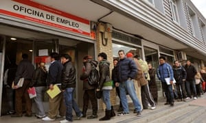 Employment office in Madrid