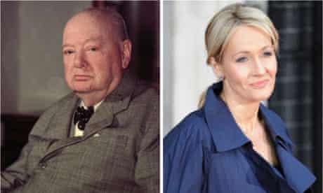 New Elizabethans: Winston Churchill and JK Rowling