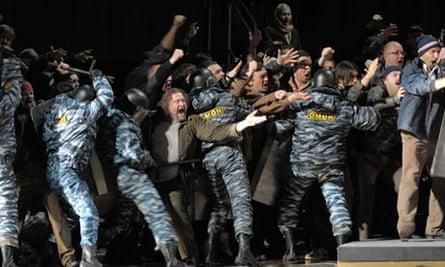 Boris Godunov opera Mariinsky Theatre in St Petersburg