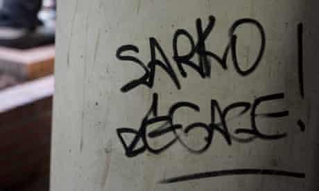 Sarkozy get out