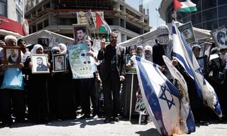 Palestinian rally