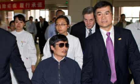 Chen Guangcheng and Gary Locke