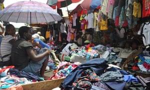 Katangua market in Nigeria