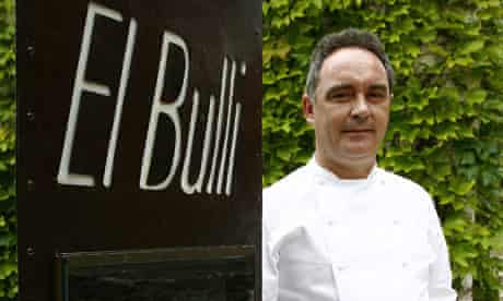 Ferran Adria at El Bulli